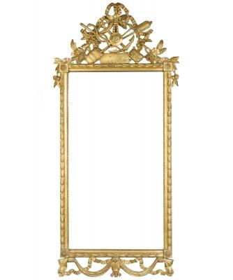 A Rectangular Louis XVI Mirror