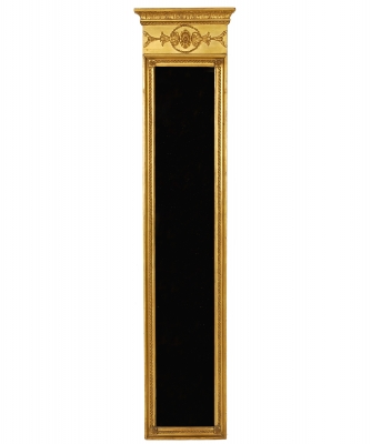 An Rectangular Empire Mirror