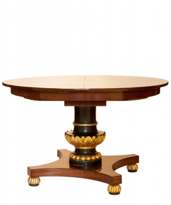 A Dutch Extending Oval Dining Table