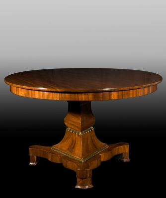 A Mahogany Round Table