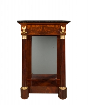 An Empire Mahogany Wall-Table