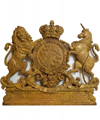 A Cast-iron Coat of Arms