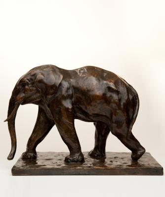 Een Bronzen Olifant