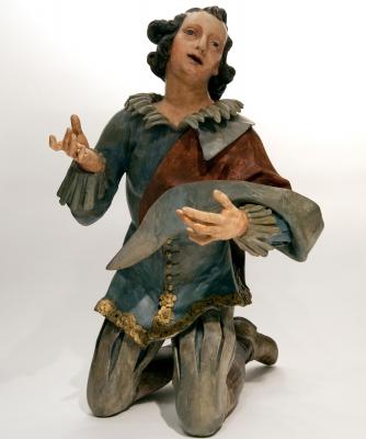 Sculptuur van een Jonge Man