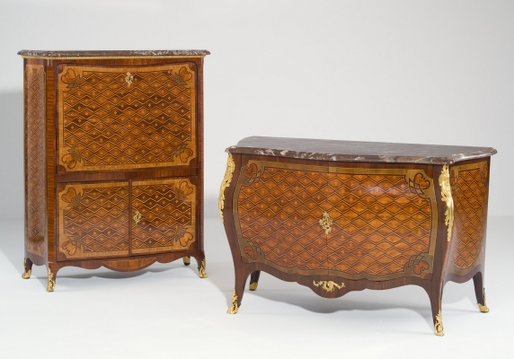 A Matched Ensemble of Secrétaire and Commode