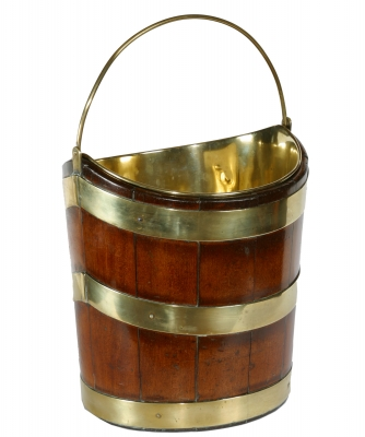 An Empire Mahogany Bucket