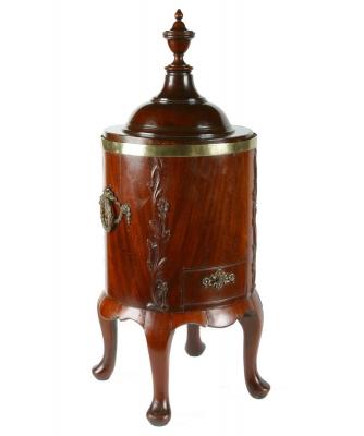 A Mahogany Louis XVI Teastove