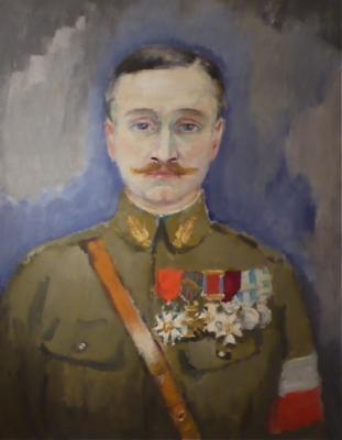 Portrait of Commandant Edouard Requin