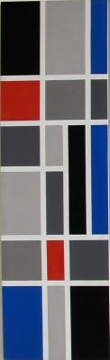 'ruimtelijke witte lijnen' - Joost Baljeu