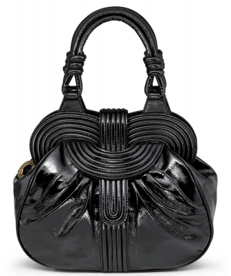 Lara Bohinc 'Lunar Eclipse' Black Patent Leather Handbag - Lara Bohinc