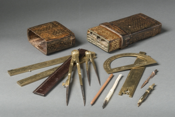 Mathematical instruments by Nicolas Bion