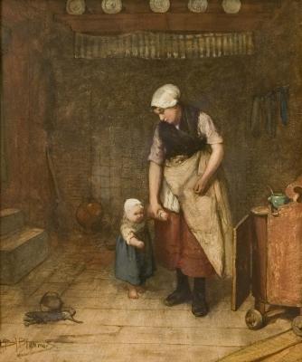Bernardus Johannes Blommers  1845 - 1915 - Bernardus Johannes Blommers