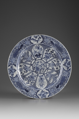 A Pair of Peacock Plates