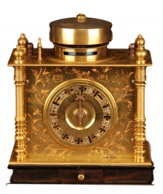 J02 Miniature Japanese Pillar Clock.