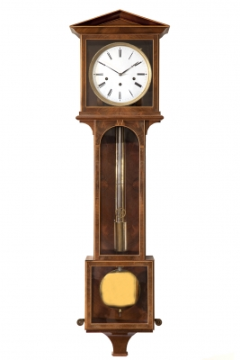 Viennese regulator, grande sonnerie,  Laterndluhr, made circa 1820-30.