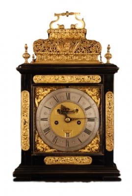 BR12 Double basket musical bracket clock