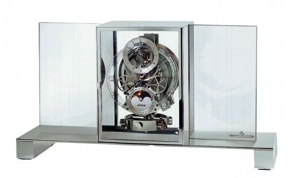 M140  ATMOS REGULATEUR TRANSPARENTE Perpetual Motion mantel Clock