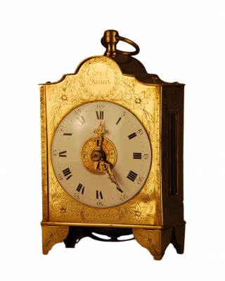 C17 'Pendule d'Officier' with hour strike, alarm and repetition