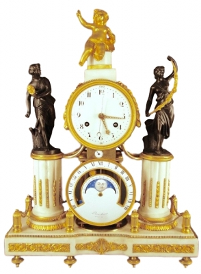 M34 Louis XVI mantle clock