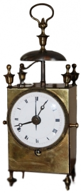 C11 French capucine travel alarm clock