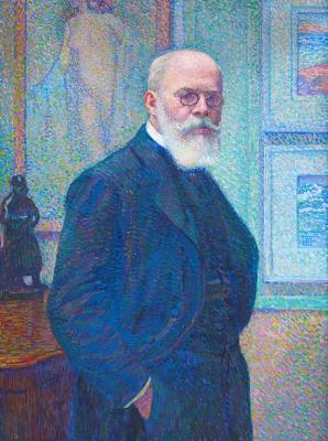 Portrait of Louis Bonnier - Théo van Rysselberghe
