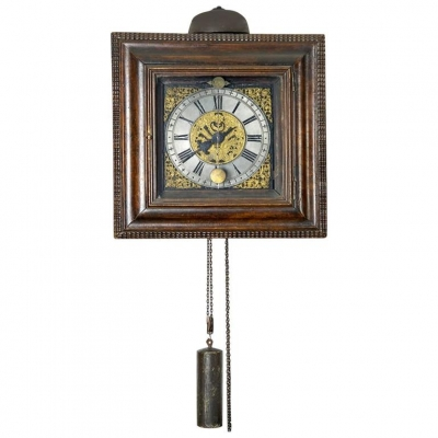 A good 18th century German so called Ramen Uhr signed Johann Friedrich Rick