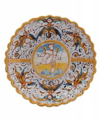 An Italian Majolica Tatza