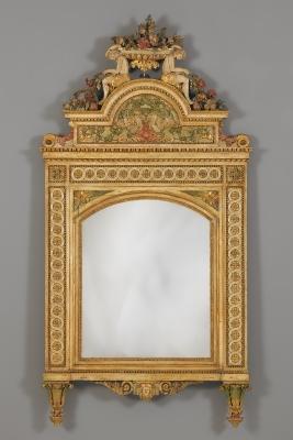 Italian Louis XVI Mirror, Guiseppe Maria Bonzanigo