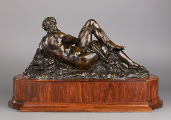 Statue of Day after Michelangelo