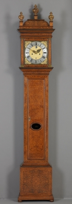 A Dutch Longcase Clock, ca. 1695