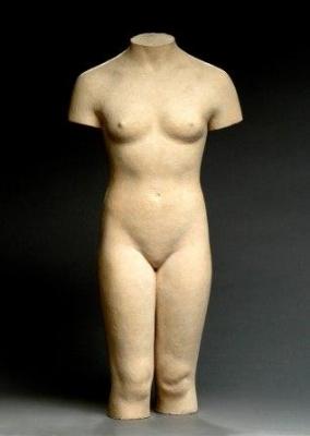 Han Wezelaar, Terracotta torso (English Girl) - Han Wezelaar