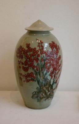 Han Boerrigter, Vase 'Red Blossom'