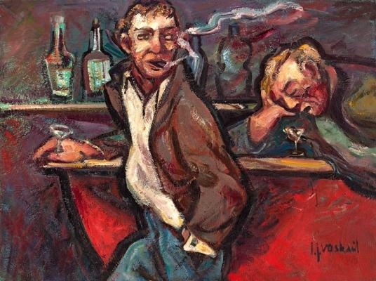 Cafescene - Johan Jacob (Jo) Voskuil