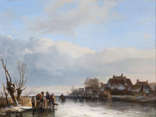 Dutch winterlandscape