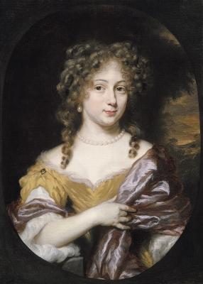 Portret van een vrouw, mogelijk Anna of Maria Meulenaer