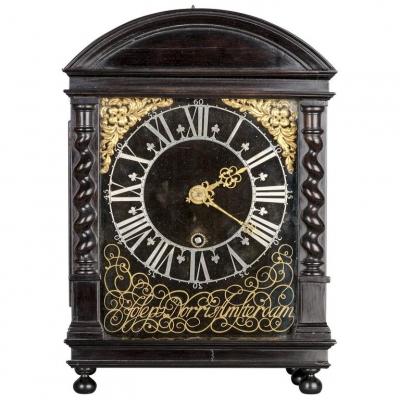 An important 17th century 'Hague Clock' by Joseph Norris Amsterdam, circa 1670