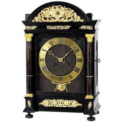"Important French ""Religieuse"" clock by Isaac Thuret in the manner of the famous ""Hague Clocks"""
