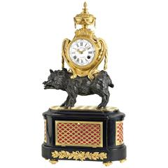"Extremely Rare and Important, ""Royer a Paris"" Musical clock"