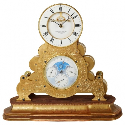 """Delettrez a Paris"" Clock with Achile Brocot Escapement, circa 1880"