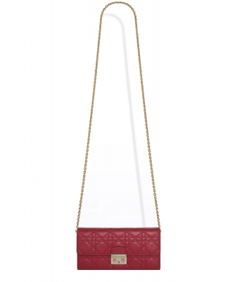 Christian Dior Miss Dior Rendez Vous Wallet On Chain Clutch