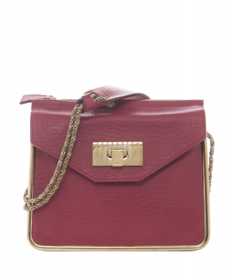 Chloé Red 'Sally' Shoulder Bag - Chloé