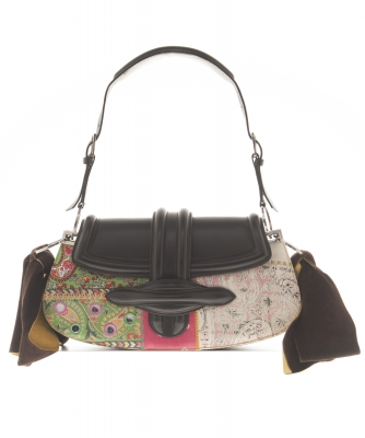 Christian Dior Brown / Multicolor Shoulder Bag - Limited Edition - Christian Dior