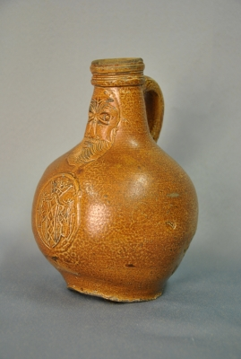 German stoneware jug with sign of Amsterdam.