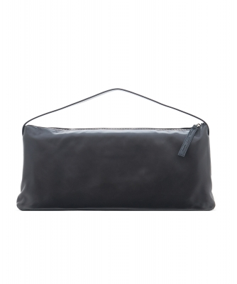 Gianfranco Ferre Black Leather East West Handbag - Gianfranco Ferré