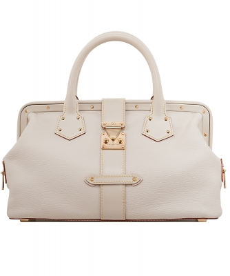 Louis Vuitton White Suhali L'Ingenieux PM Bag - Louis Vuitton