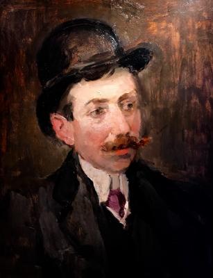Portrait of a gentleman, Mr. Hecht