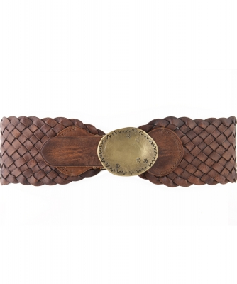 Ralph Lauren Braided Leather Belt - Ralph Lauren