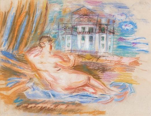 Nu à la Renoir