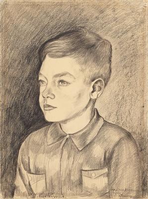 Portrait of Wouter Akerboom - Charley Toorop