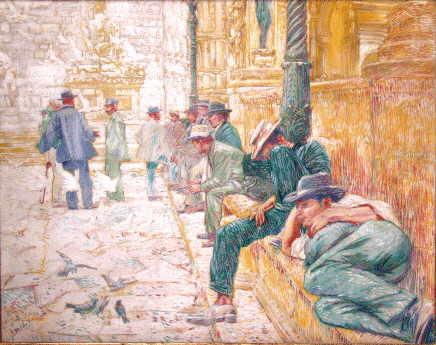 Piazza dei signora, Firenze - Francois (Franz) Gailliard